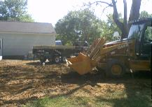 I am getting ready to backfill the foundation. a lot of the dirt will be hauled off.