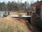 We built this walkway bridge in Cliinton, NJ.